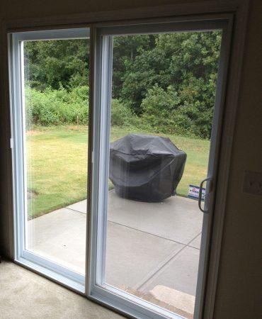 sliding door wide view