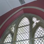 St. Paul's church window arch