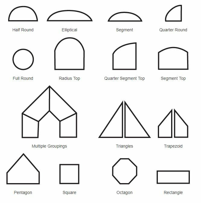 Window Shape Guide